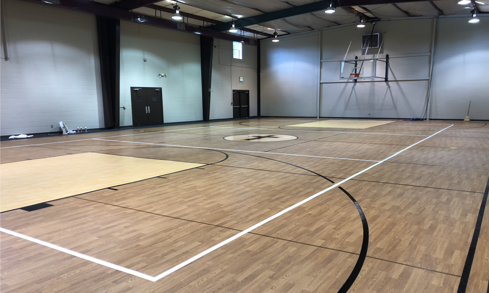Trinity Chapel Basketball Court Done in LVP